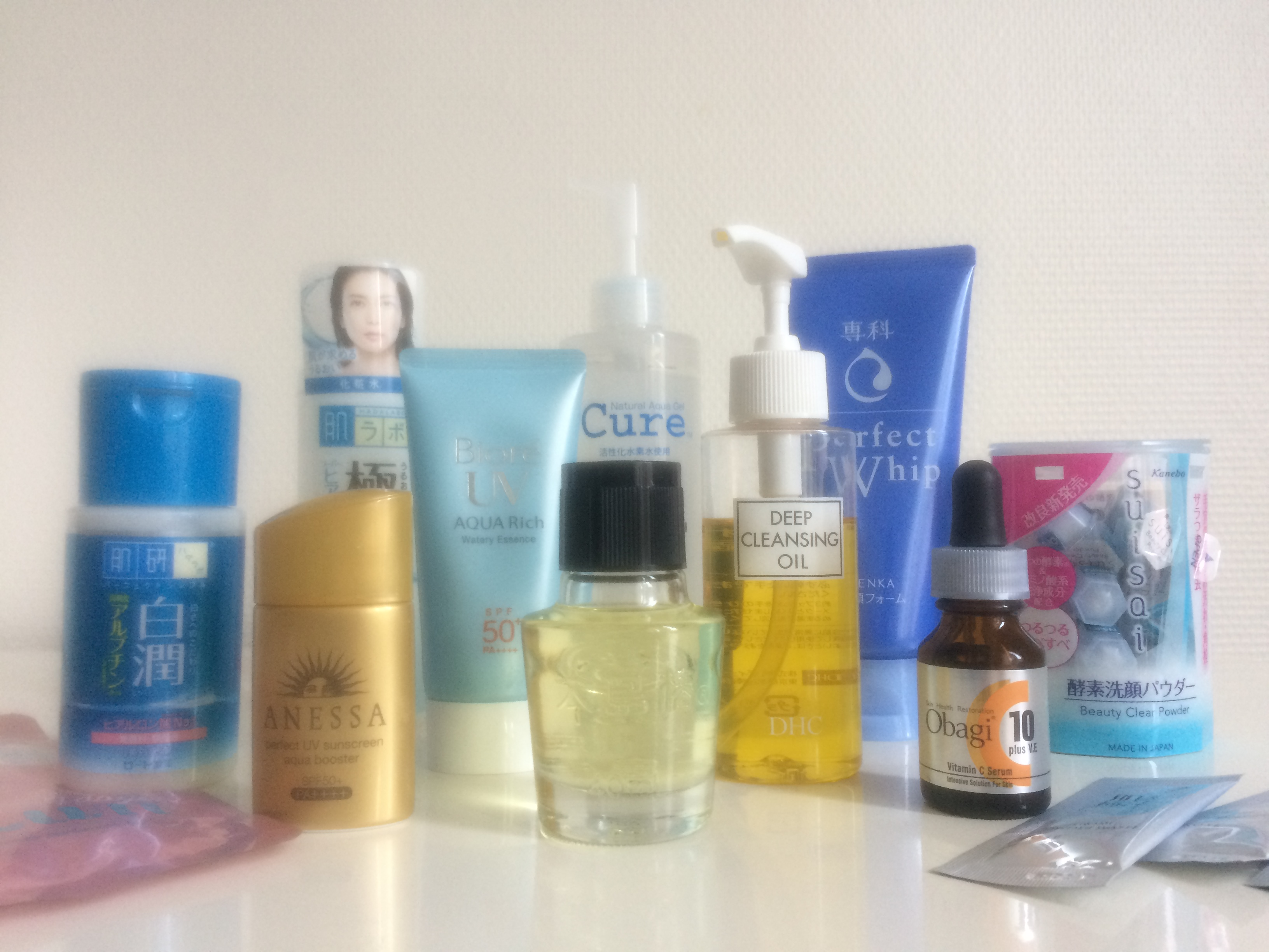 Japan: Drugstore Skincare Haul | Life in a Cold Climate
